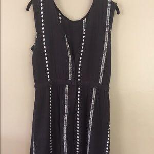Ace & Jig Black Cord Maxi Dress